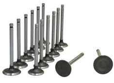 Ford Bronco 4.9L 300 OHV Intake & Exhaust Valves Ford Bronco Parts, Exhausted, Chrome