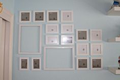 The easy way to hang photos on a wall!