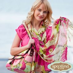 #Spartina449  Spartina Scarves & Scarves by Lindsay Phillips
