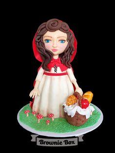 Little Red Riding Hood - Cake by Julie Manundo