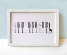 The Pianist - Art Print by ILoveDoodle, via Flickr