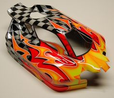 Remarkable Paint Scheme for Nitro Buggy Body