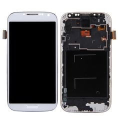 [$53.10] iPartsBuy for Samsung Galaxy S IV / i9500 / i9505 LCD Display + Touch Screen Digitizer Assembly with Frame(White)