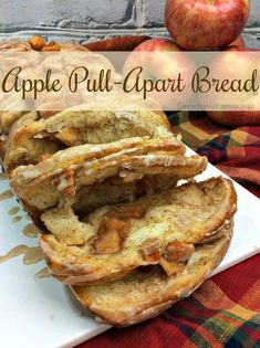 This is an easy Apple Pull-Apart Bread recipe to make for all your Fall get-togethers. So simple, your kids can make it! Apple Recipes For Kids, Apple Dessert Recipes, Easy Cake Recipes, Fall Recipes, Fall Desserts, Yummy Recipes, Gala Apples Recipe, Baking Fails, Pull Apart Bread
