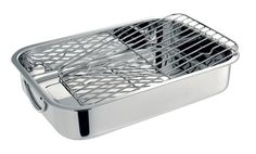 Cuisinox Rectangular Roasting Pan with Rack Stainless Steel *** For more information, visit image link.