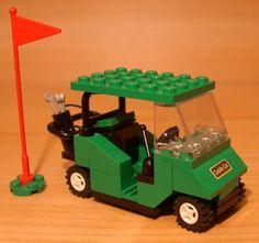 Cool Custom Golf Cart for Town City Club Train Lego Green Golfer Gift Set Flag   eBay