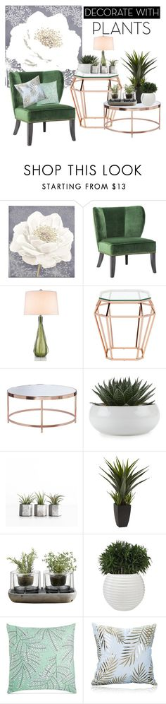"""""""grow a little: planters"""" by zsuzsannaa ❤ liked on Polyvore featuring interior, interiors, interior design, home, home decor, interior decorating, Graham & Brown, Vance, Zephyr and Nuevo"""