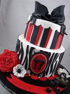 birthday cake my favorite colors