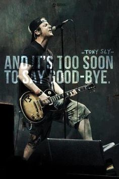 Rest in Peace Tony Sly -   No Use For A Name