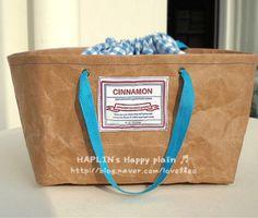 washable kraft paper bags