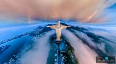 Christ the Redeemer - Brazil's Iconic Statue on Top of Corcovado Mountain in Rio de Janeiro