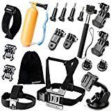 #5: Zookki Accessories Kit for GoPro Hero 5 4 3 3 2 1 SJ4000 SJ5000 Camera Black - Silver Prov 3:6: in all your ways acknowledge him and he will make your paths straight.