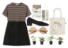 """""""Untitled #514"""" by its-snowing-petals ❤ liked on Polyvore featuring Étoile Isabel Marant, Chicnova Fashion, Maryam Nassir Zadeh, Bella Freud and Korres"""