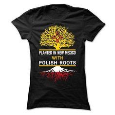 POLISH NEW MEXICO T Shirts, Hoodies Sweatshirts. Check price ==► https://www.sunfrog.com/States/POLISH-NEW-MEXICO-Ladies.html?57074