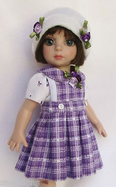 "OOAK PATSY'S PERFECT IN PLAID! FOR 10"" ANN ESTELLE, ETC. MADE BY SSDESIGNS"