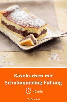 Käsekuchen mit Schokopudding-Füllung - smarter - Zeit: 45 Min. | eatsmarter.de