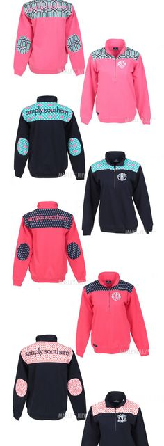 Monogrammed Preppy Pullover SIMPLY SOUTHERN - from Marleylilly.com!