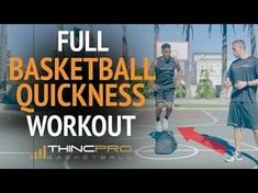 Quickness, Explosiveness, First Step Speed Drills for Basketball (Full Basketball Workout!) - YouTube