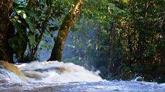 Cachoeira do Santuário  Presidente Figueiredo - Amazonas Brasil