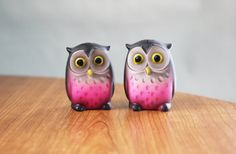 Little Owl S&P Shakers ... if I bought them they would be my second set, but I LOVE!
