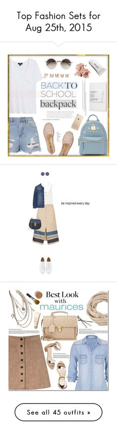 """""""Top Fashion Sets for Aug 25th, 2015"""" by polyvore ❤ liked on Polyvore featuring MANGO, Topshop, Linda Farrow, Stuller, Bobbi Brown Cosmetics, Maison Margiela, Moleskine, Bebe, Valentino and The Row"""