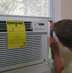 Steps to Install a Window Air Conditionerat The Home Depot