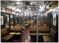straw seats on the subway train.  What an old memory this is. From when I was a child