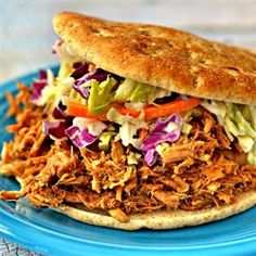 "Pulled Pork Ya'll | ""Barbecued pulled pork with the addition of other flavors makes this one stand out from the others."""