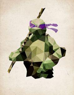 Polygon Heroes - Donatello