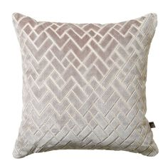 Fracture Cushion, Grey | Geometric Cushions - Barker & Stonehouse