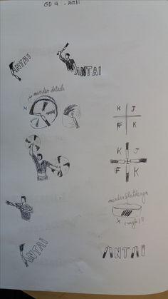 1ste schetsen blad 1