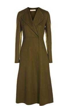 Marni Пальто Темно-зеленый 199 500 Р.