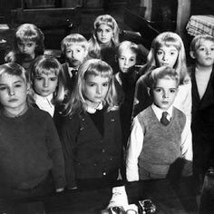 Village of the Damned, Gorgo, and The Day the Earth Caught Fire are three United Kingdom Science Fiction movies. This article contains spoilers for these movies and other movies mentioned in the article. Sci Fi Films, Cult Movies, Scary Movies, Horror Movies, Fiction Movies, Ghost Movies, Horror Film, Science Fiction, Great Sci Fi Movies
