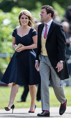 HELLO Royal Style: Princess Eugenie Of York's Best Looks. Eugenie & Jack Brooksbank Attend Pippa Middleton's Wedding To James Matthews In May Royal Fashion, Fashion Photo, Royal Look, Royal Style, Princess Eugenie, Princess Beatrice, Pippa Middleton Wedding, Eugenie Of York, Fashion Pictures