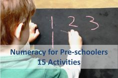 Improving numeracy through play and fun!