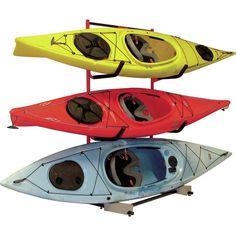 Malone Auto Racks FS Rack System 3 Kayak Storage Freestanding Kayak Rack U0026  Reviews | Wayfair