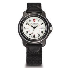 Victorinox Swiss Army Men's Black Original 249086 Swiss Quartz Analog Watch