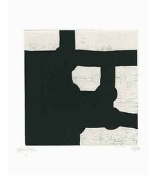 Eduardo Chillida (1924-2002), from Aromas (book with nine prints), 2000. Etching and aquatint on Eskulan wove paper. 53.5cm H x 42.5cm W. Edition of 120 copies.
