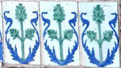 Roma, Villa Ximenes,  Ceramiche della facciata