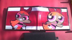 Powerpuff Girls Blossom Duct tape Wallet. $14.00, via Etsy.