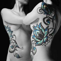 By @maxim.xiii #flowertattoo #floraltattoo #womenwithink #womenwithtattoos #ornamental #ornamentaltattoo #girlswithink #girlswithtattoos #art #altgirls #ink #inkedgirls #inkedgirls #inkedmodel #inkedwomen #tattoo #tattooed #tattooedgirls #tattooedmodel #tattooedwomen