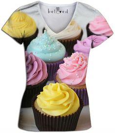 Cupcake Women's V-Neck Tee