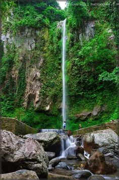 Matoy Elipe -  katibawasan waterfalls, camiguin island philippines