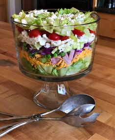 Layered Chef's Salad