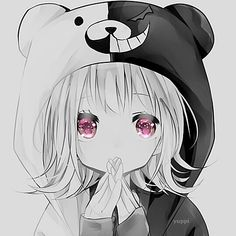 Kawaii Good/Bad Panda :3