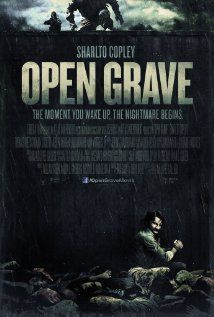 Open Grave (2013) - A man wakes up in the wilderness, in a pit full of dead bodies, with no memory and must determine if the murderer is one of the strangers who rescued him, or if he himself is the killer.