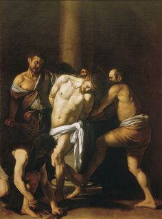 The Flagellation of Christ (Caravaggio) 1607  Museo Nazionale di Capodimonte, Naples.