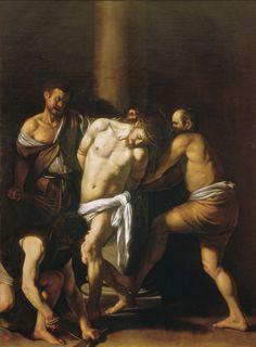 The Flagellation of Christ (Caravaggio) 1607  Museo Nazionale di Capodimonte, Naples.