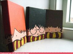 Harry Potter Canvases