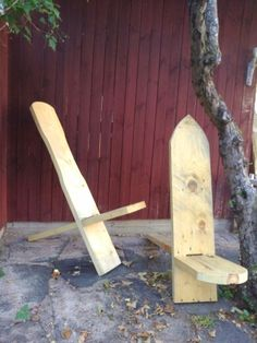 Pair of viking chairs. One for me, one for my wife.